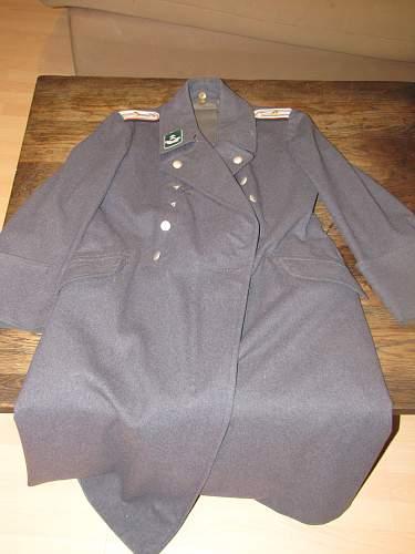 Greatcoat  Reichluftaufsicht-dienst der Luftwaffe