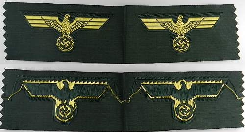 Kriegsmarine Coastal Artillery Field Cap Eagle for review