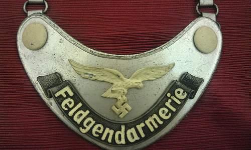 Luftwaffe FG Gorget Help Please...