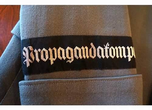 Propaganda Tunic for review 1944
