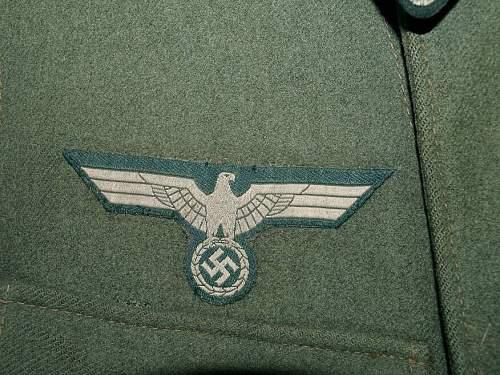 N.C.O's Panzer Abwehr Jacket - Good / Bad