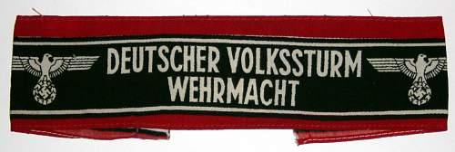 Click image for larger version.  Name:Volkssturm-armband..jpg Views:2473 Size:167.2 KB ID:4647