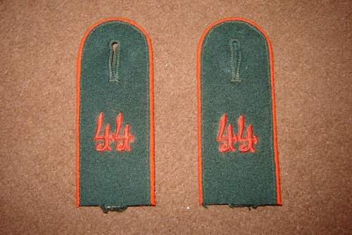 Opinion on these shoulderboards