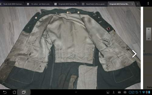 is this a good m42 tunic?>