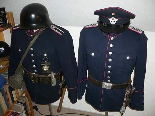 Feuerschutzpolizei (Fire Protection Police) Uniforms Question