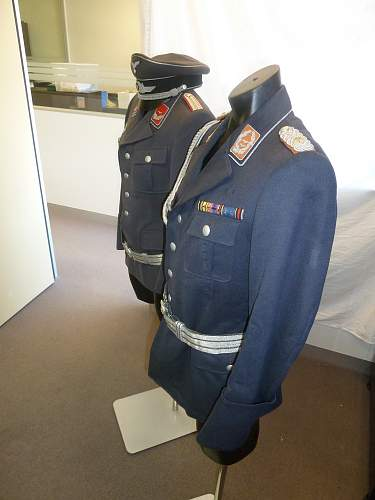 Luftwaffe Oberstleutnant Service Tunic