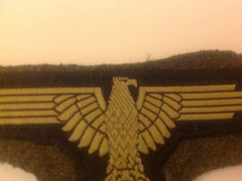 Opinions on breast eagles and patches needed