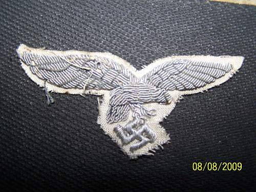 """White """"Droop Tail"""" Luftwaffe Eagle"""