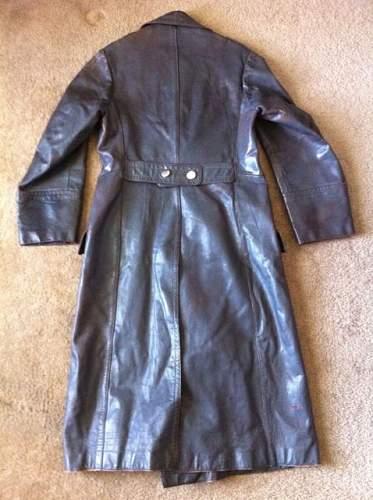 german WW2 leather coat ????? ANYone?