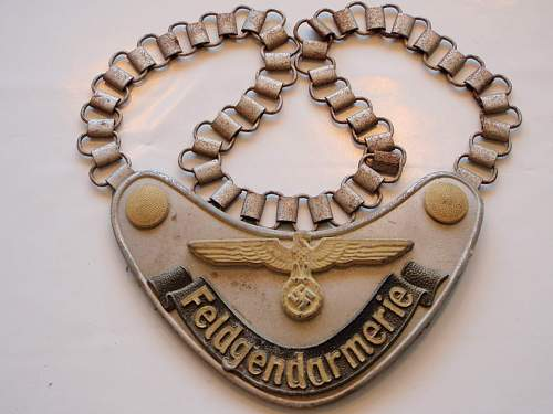 Feldgendarmerie gorget real?