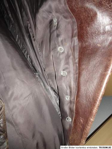 Officers leather coat ????? PLEASE HELP
