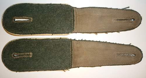 Original or repro shoulder boards? I need your opinions...
