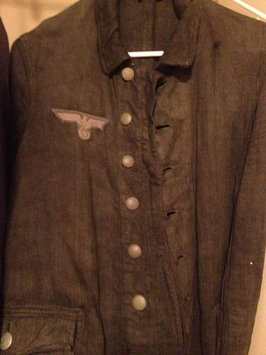 Help with German Drill Tunic