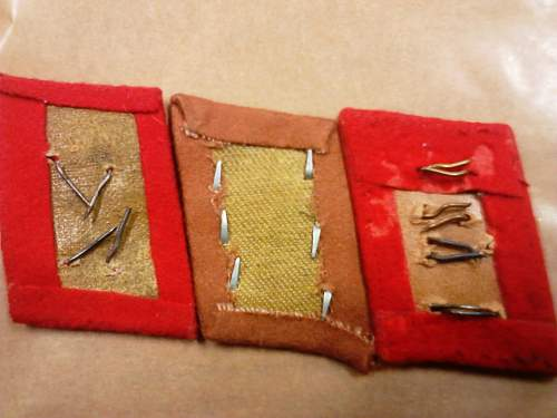 Flak Collar Patch Set