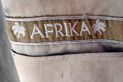 German uniform/Afrika korps....real og fake?