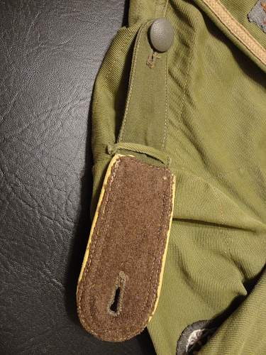 Tropical NCO tunic.