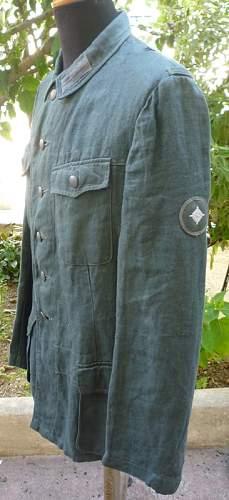 Nice HBT tunic, but original? Let me know please...