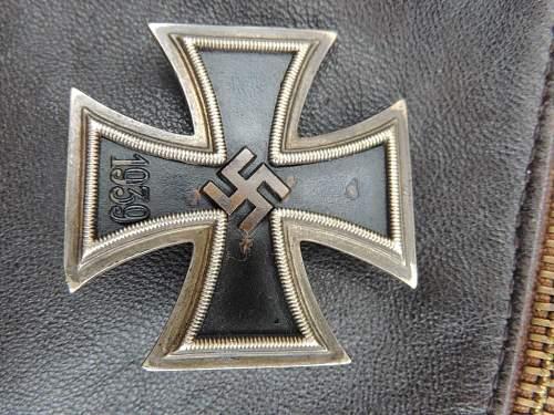 Luftwaffe Pilot's Leather Jacket