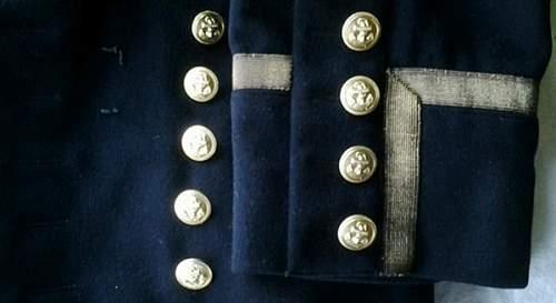 Kriegsmarine paradejacke...opinions?