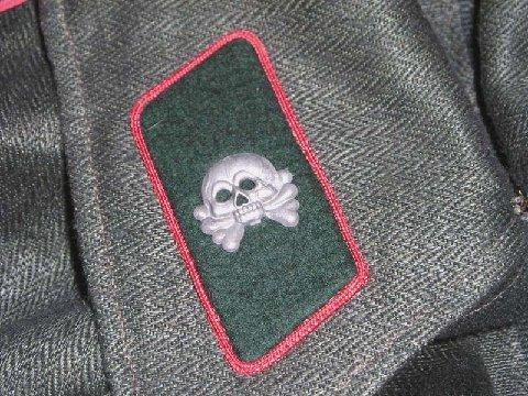 German HBT assault gunner wrapper