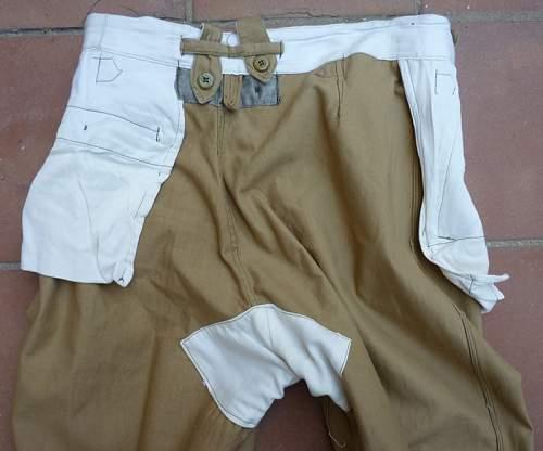 Kriegsmarine trousers