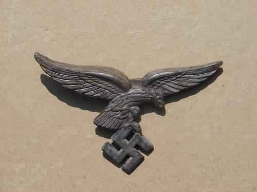 Luftwaffe Insignia , breast eagle opinion!!!!