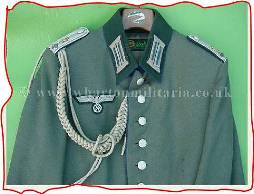 Medical Officers Tunic