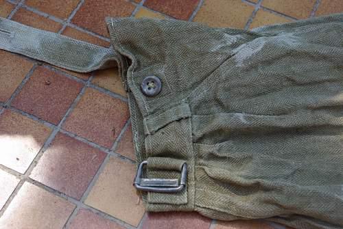 sturmgeschutz drillich pants?