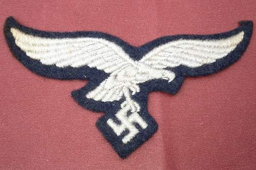 Luftwaffe Breast Eagle for Review
