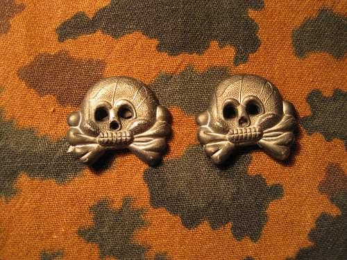 Heer Panzer skulls real/fake?