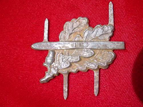 Ski jager cap badges - whats the story?