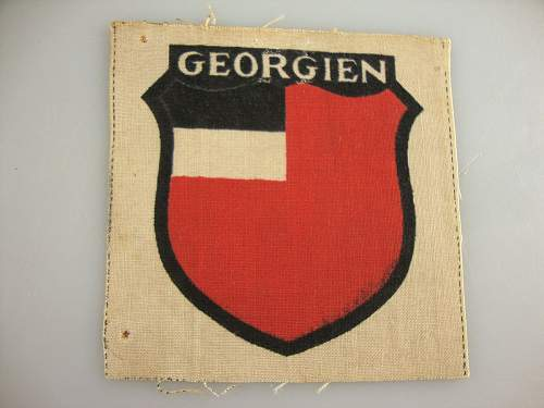 Foreign Volunteers Insignia-Reference Thread