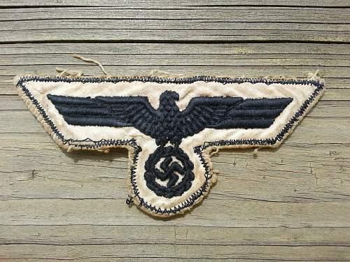 Kriegsmarine  breast eagle number two