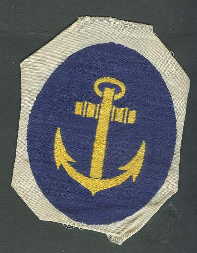 Is this is a German Navy patch?