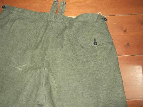 Opinions about a german ww2 pant