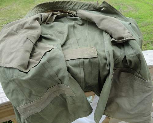 Heer NCO summer weight tunic ex Police?