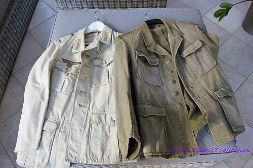 1st Pattern (M41) DAK Tunic