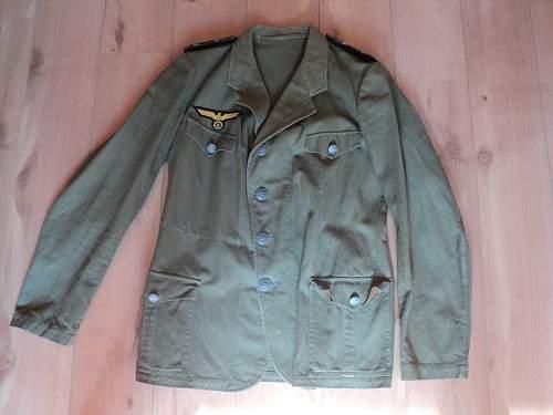 Need help on Kriegsmarine tropical jacket