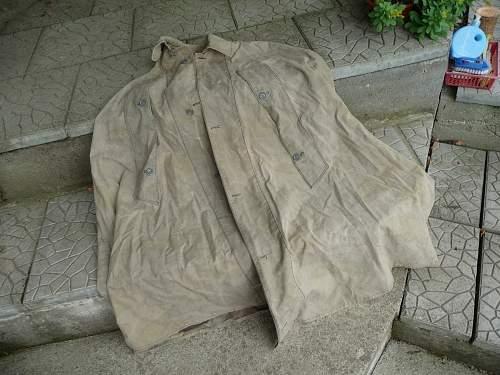 German (?) Rain Jacket - Italian Camo