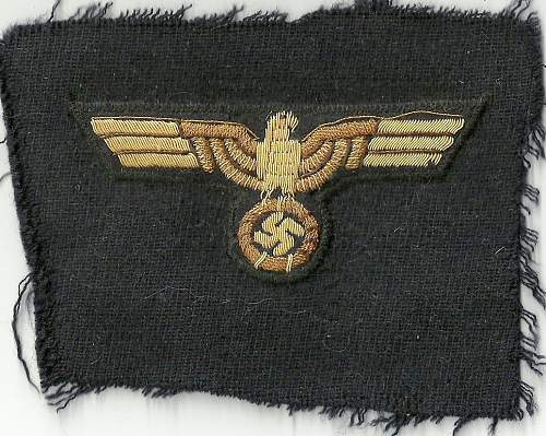 WW2 GERMAN NAVY BREAST EAGLES or CAP EAGLES ??(2)