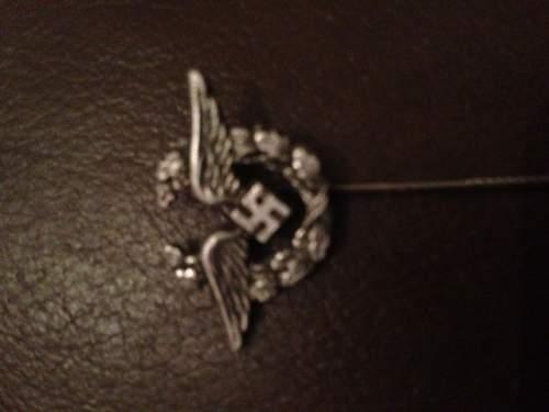 Luftwaffe Aux stick pin