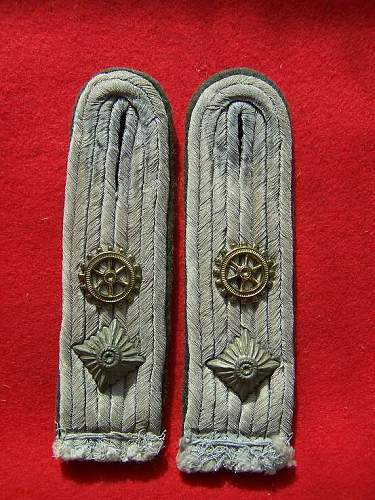Steuermann Kriegsmarine shoulder straps