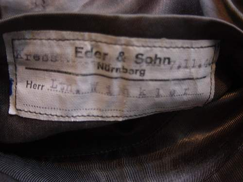Click image for larger version.  Name:Heer Officers tunic clothing label..jpg Views:115 Size:149.3 KB ID:56368