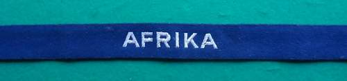 Nice Luftwaffe AFRIKA Title