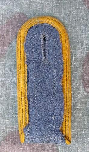 Feldwebel LW Shoulderboard
