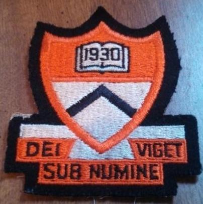 WW2 German Orange Patch Dei Viget Sub Numine