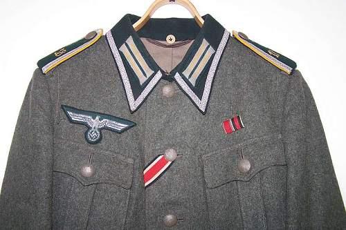 Nice fashioned Heer Uffz Kavalerie tunic