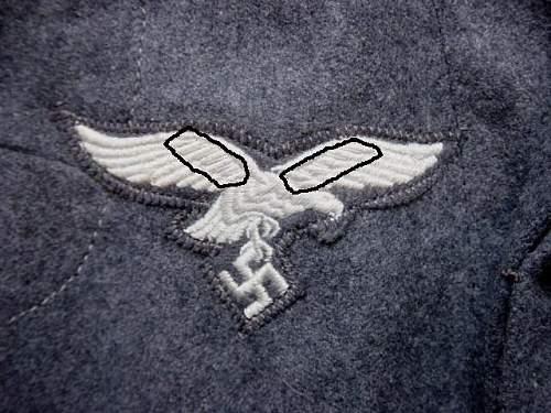 Luftwaffe Uniform Question.