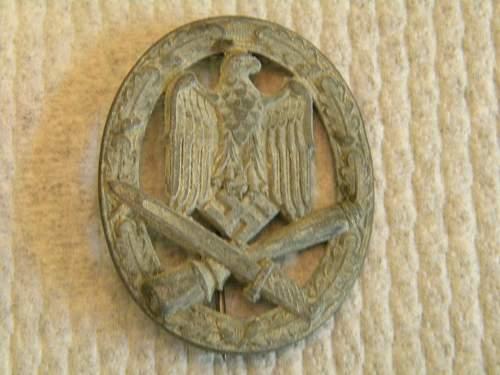 Nazi uniform, patch, and badge question