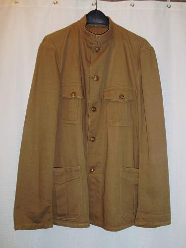 colonial officers tunic ! ? !